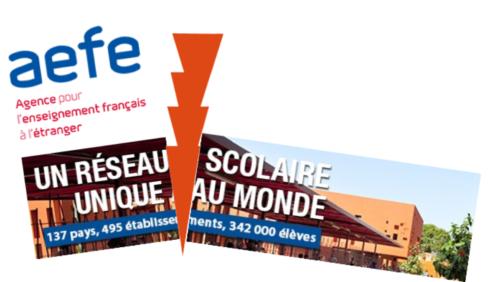 La défense de l'enseignement du français à l'étranger :  une pétition à l'initiative de l'ADFE-Français du Monde Logo-aefe-en-peril-500x282